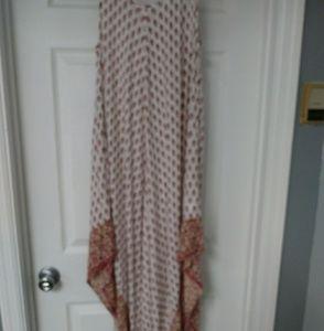 NWOT Handkerchief maxi dress